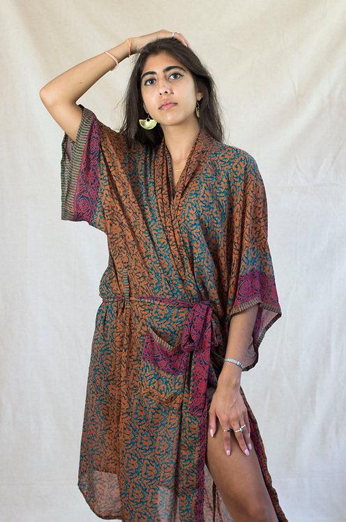 Baggy Kimono in Paisley: multiple fabric options