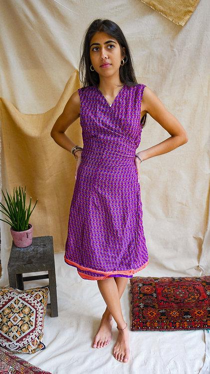 Summer wrap dress