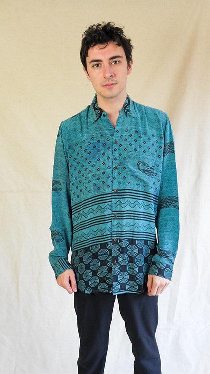 Multi-pattern blue