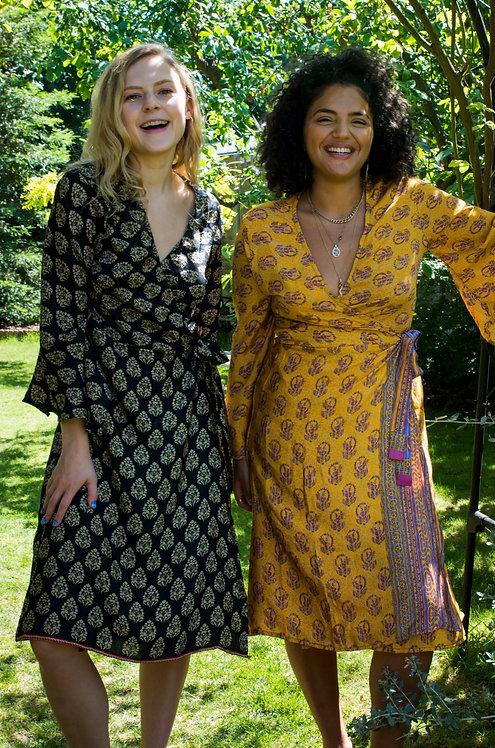 Belle Sleeve Kimono: Multiple Fabric Options