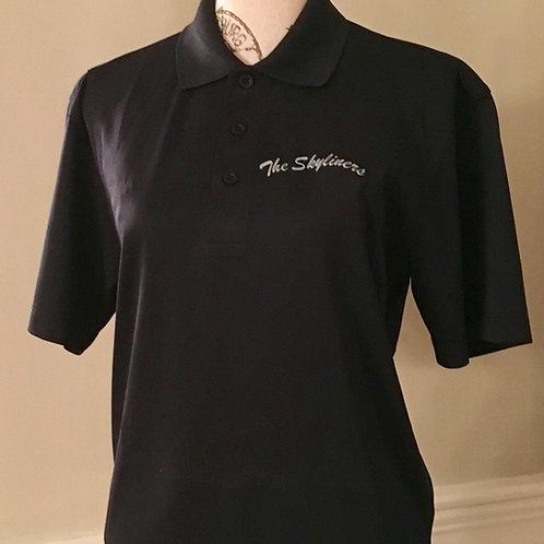 Dark Black Golf Shirt