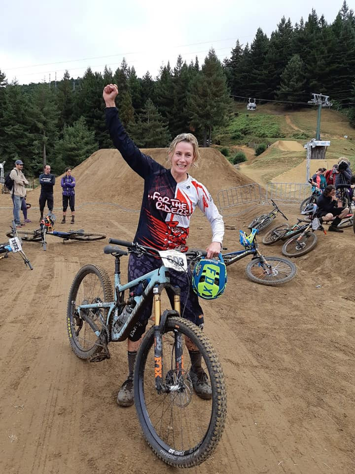 Joyous after a HUGE day at EWS Rotorua.