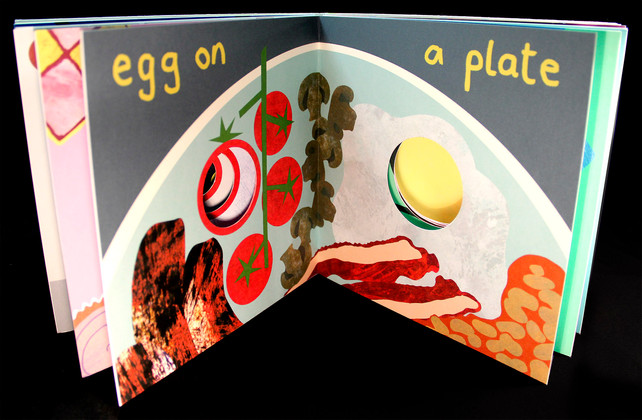 Egg on a Plate