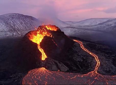 Cineasta derreteu seu drone DJI Mavic 2 Pro para obter essas fotos incríveis de um vulcão ativo