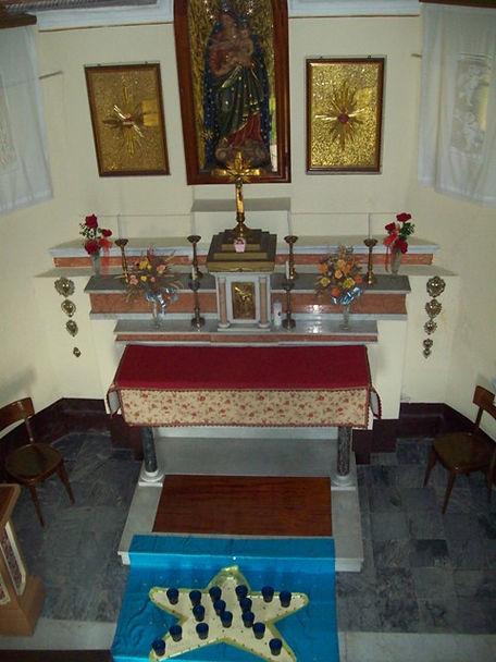 altare Madonna della Neve