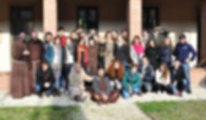 Cerco te: Ilaria e Giovanna con i ragazzi e i Frati Cappuccini di Lombardia