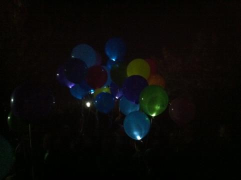 i palloncini volano