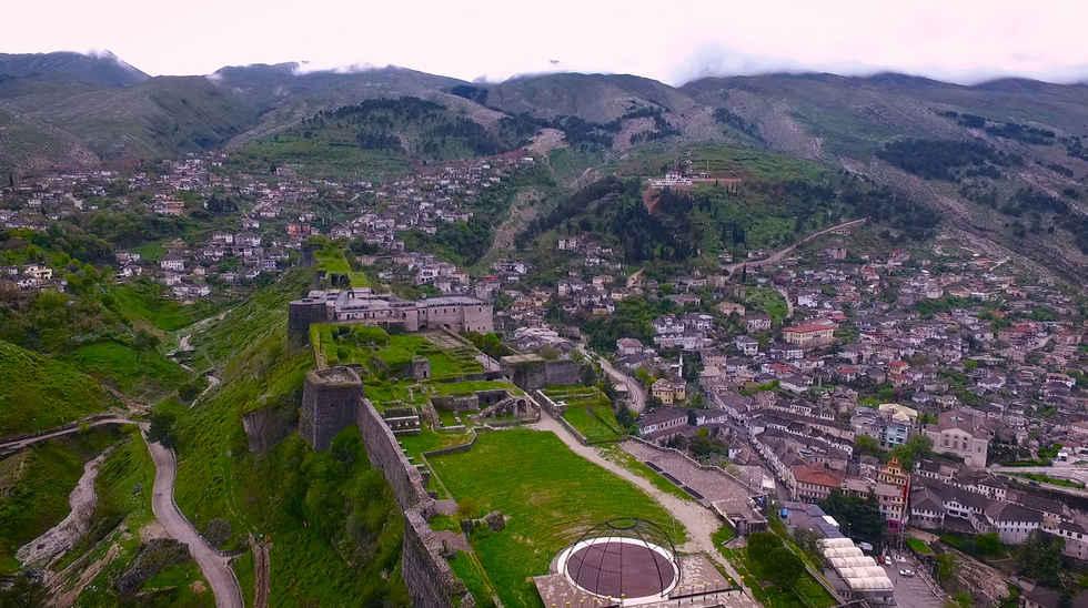 Berat e Gjirokastra - Albania