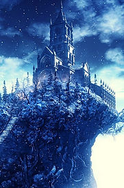 Winter Castle Lined NoteBook Bookcover F
