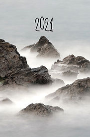 2021 Foggy Mountain DayPlanner Bookcover