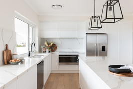 Veda Stone Shaker Kitchen by Gathering Light
