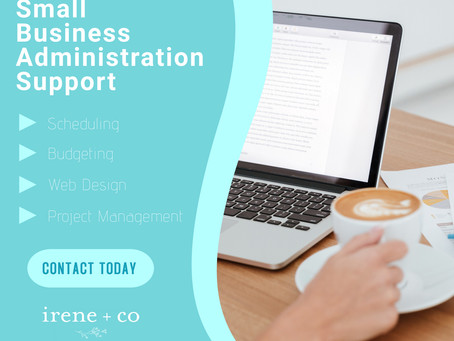 Support Small Businesses- Now Offering Administrative Support