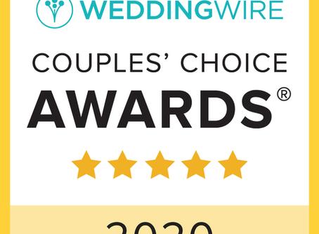 2020 WeddingWire Couples' Choice Awards® Irene & Co Events Named Winner