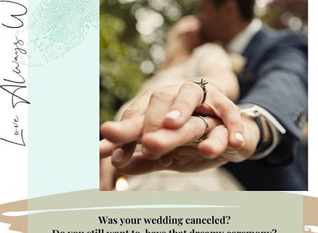 COVID-19 Wedding Ceremony