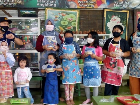 Kegiatan Edukatif Seni Budaya Bernuansa Hutan Kota yang Aman dan Nyaman