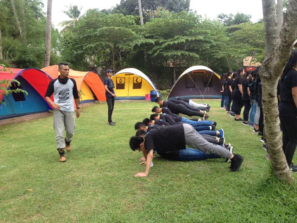 aktivitas fisik membuat pengalaman LDKS menjadi seru dan berkesan