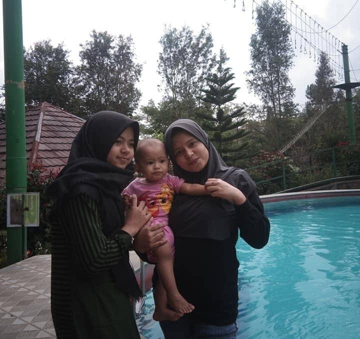 rekreasi citra alam riverside swimming pool