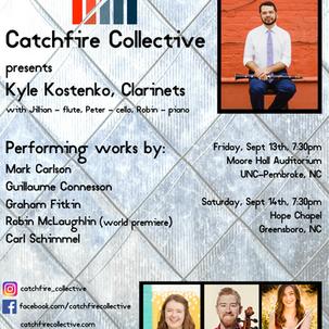 Catchfire Collective Presents Kyle Kostenko
