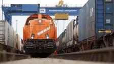 В УЗ ожидают большой грузопоток контейнерного поезда Китай-Украина-Словакия в 2018 год