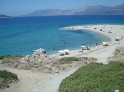 Marmari Golden beach
