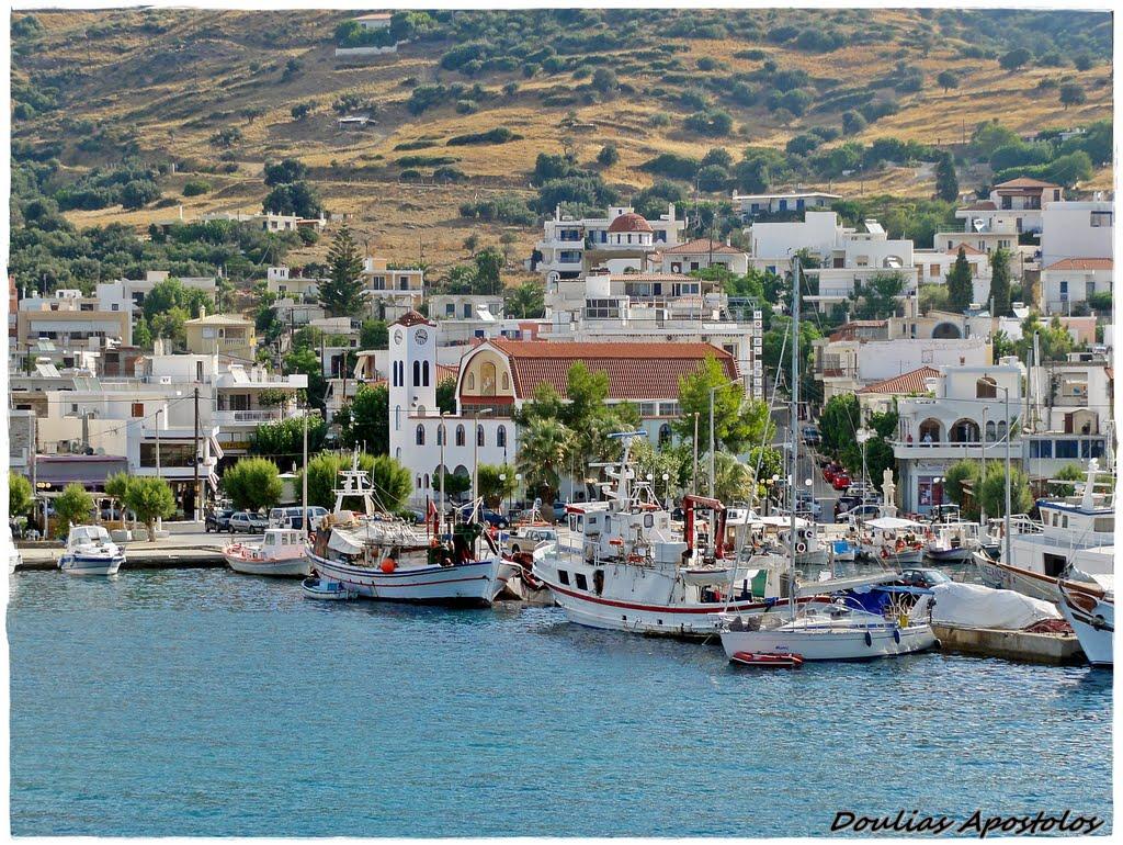 Marmari port