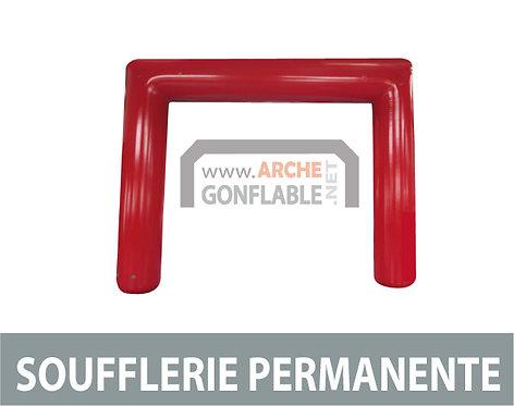Arche gonflable carrée SOUFFLERIE 10m