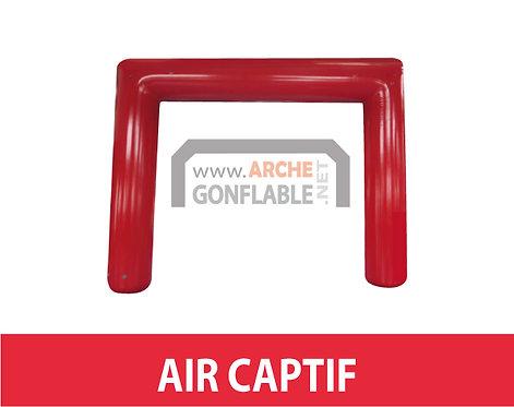 Arche gonflable carrée ETANCHE 8m