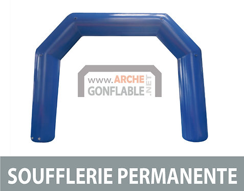 Arche gonflable 5 pans SOUFFLERIE 10m