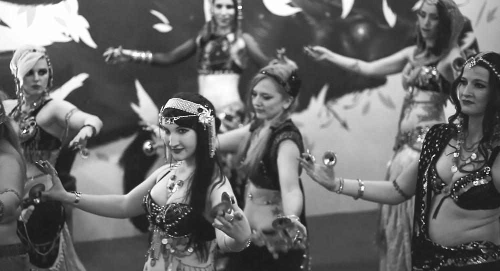 Tribal Fusion Belly Dance Tulsa Faelan Shiva Lavender Lotus