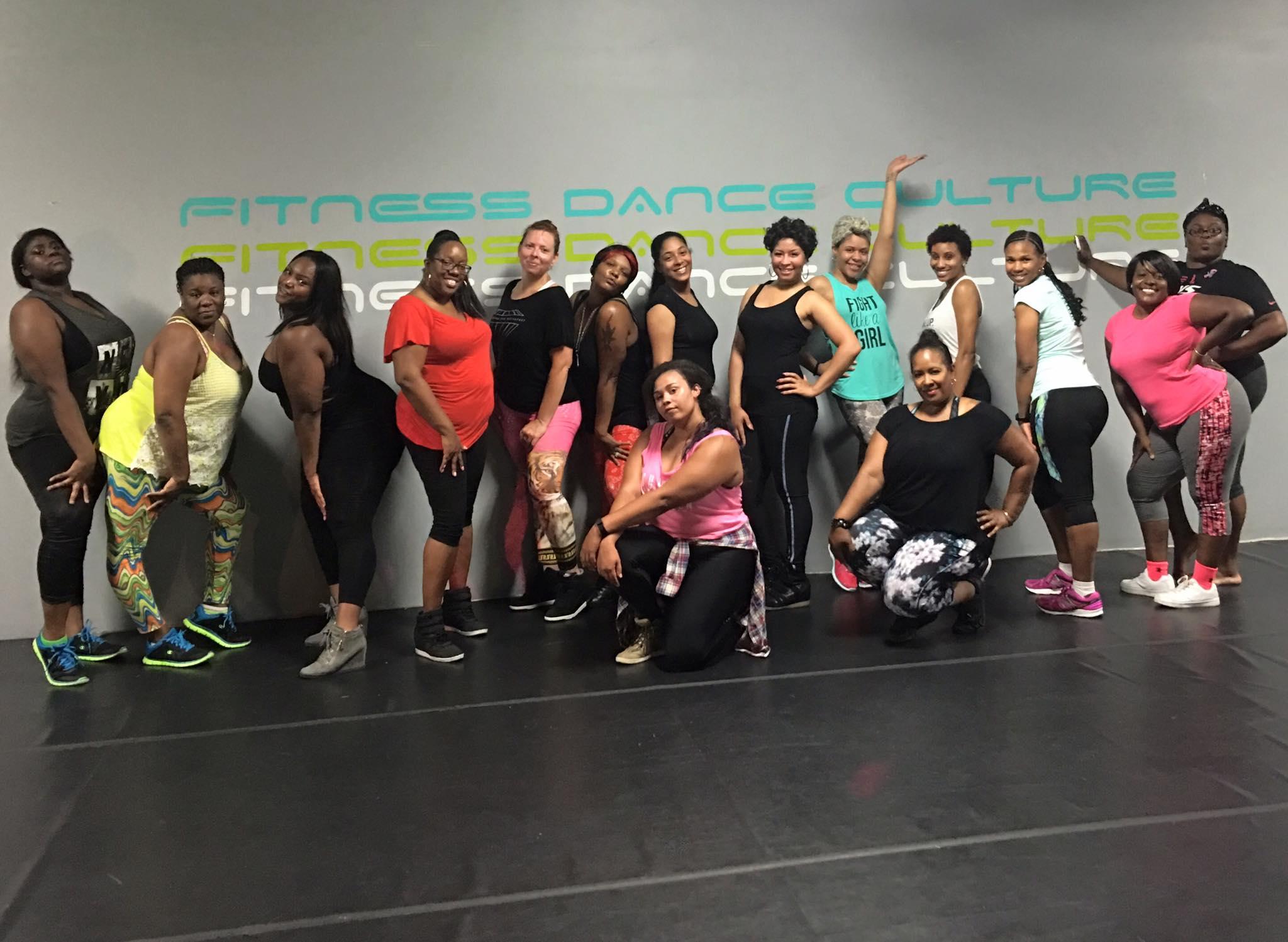 Vixen Fitness Fundraiser