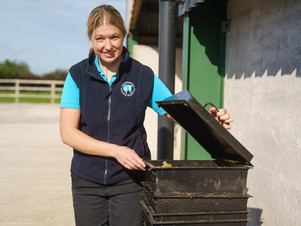 Worms helping a Cheshire veterinary practice to have a greener future