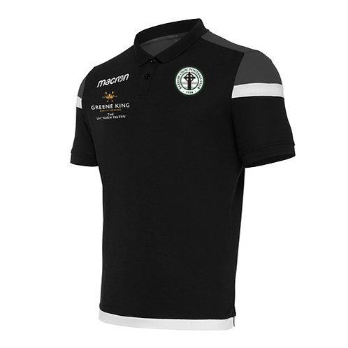 Barrow Celtic Shofar Polo Shirt Black Adult
