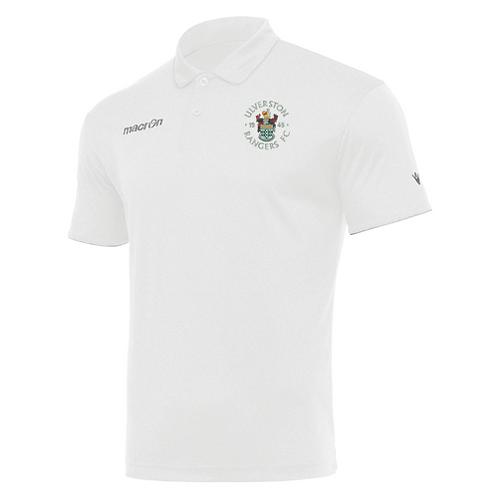 Ulverston Rangers Draco Polo Shirt White Adult