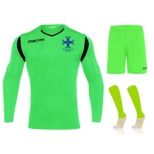 Sefton Girls Junior Antilia GK Match Shirt Bundle