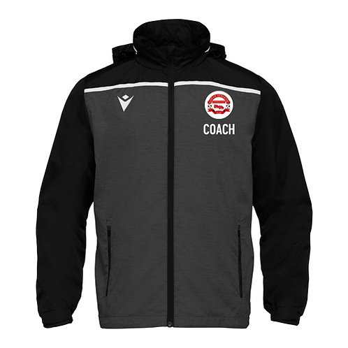 Govan Athletic Coach Tully Waterproof Jacket Adult