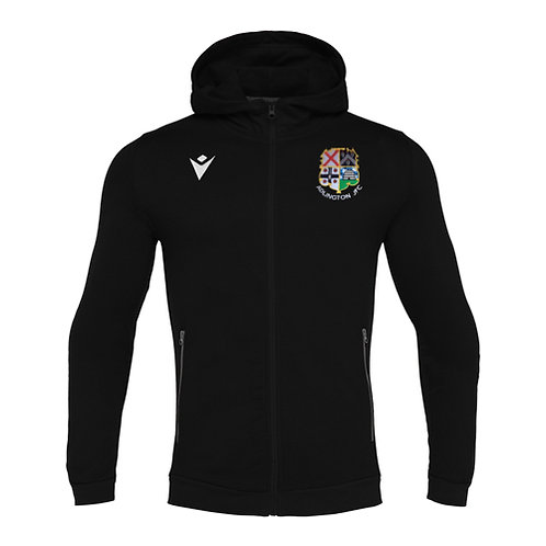 Adlington JFC Coach Cello Full Zip Hooded Sweatshirt Adult