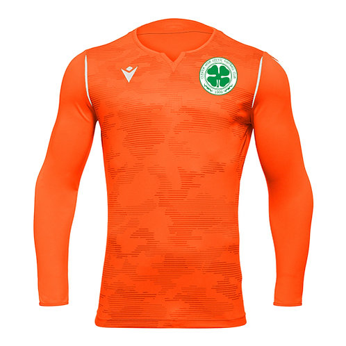 Cleator Moor Celtic FC Ares Non-Padded GK Away Shirt Adult