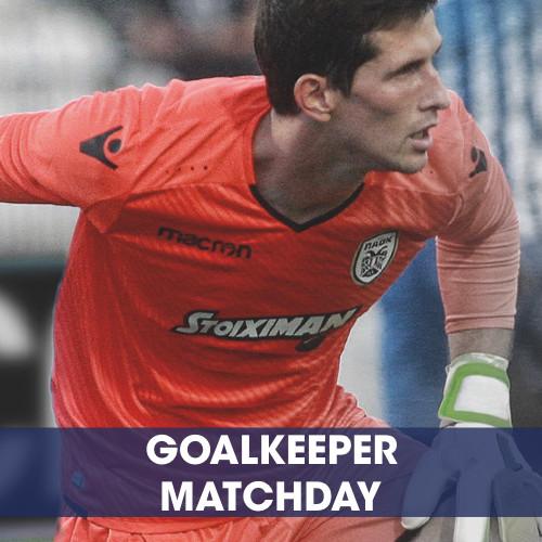 Goalkeeper Matchday