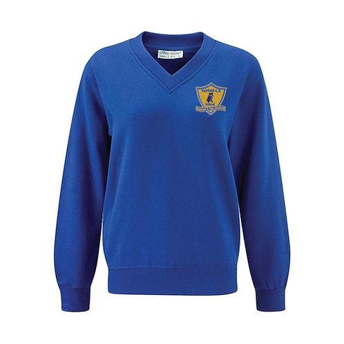 Fairfield V-Neck Sweatshirt