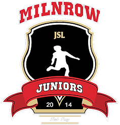 Club Badge - Milnrow Juniors (White Outl