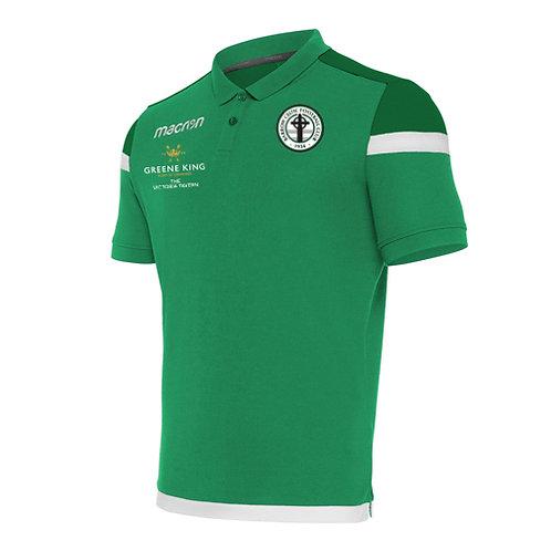 Barrow Celtic Shofar Polo Shirt Green Junior