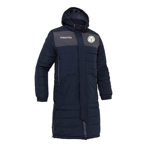 BJFF Suva Long Padded Bench Jacket Adult