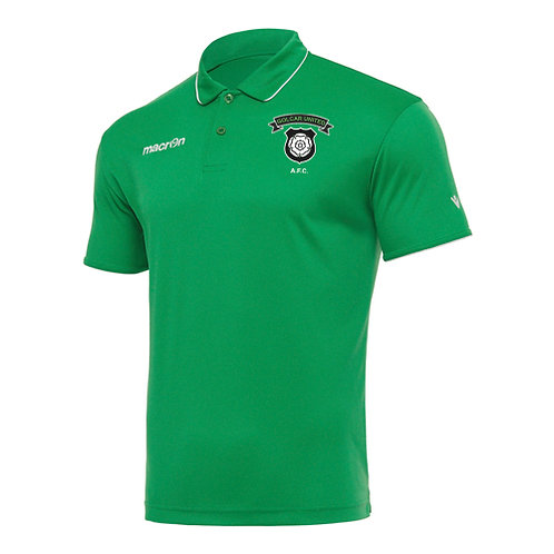 Golcar United Draco Polo Shirt Green Adult