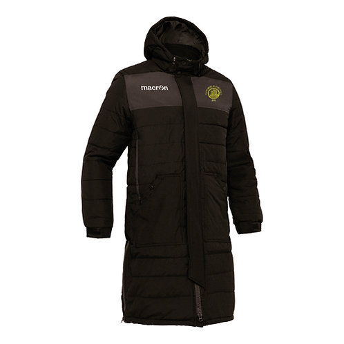 Cartmel AFC Suva Long Padded Bench Jacket Adult