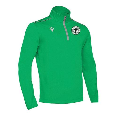 Barrow Celtic Havel 1/4 Zip Top Green Adult