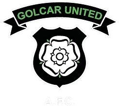 Club Badge - Golcar United FC (WHITE 2).