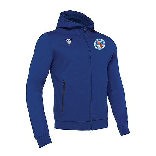 Wythenshawe Town Cello Full Zip Hooded Sweatshirt Adult
