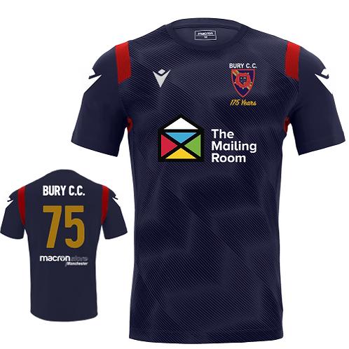 Bury C.C. T20 Replica Shirt Adult