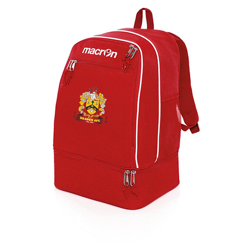 Silsden Academy Backpack Red