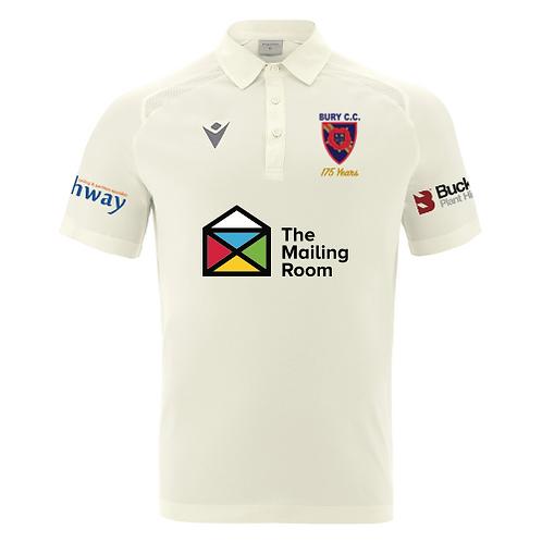 Bury C.C. Short Sleeve Shirt Junior